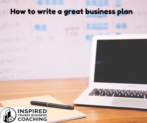 How to Write a Great Business Plan photo
